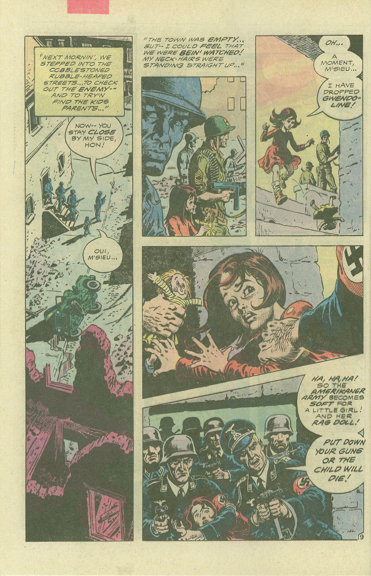 Read online Sgt. Rock comic -  Issue #396 - 11