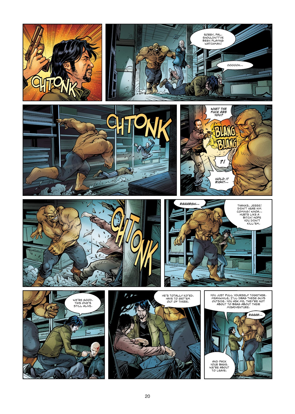 Read online Vigilantes comic -  Issue #4 - 20