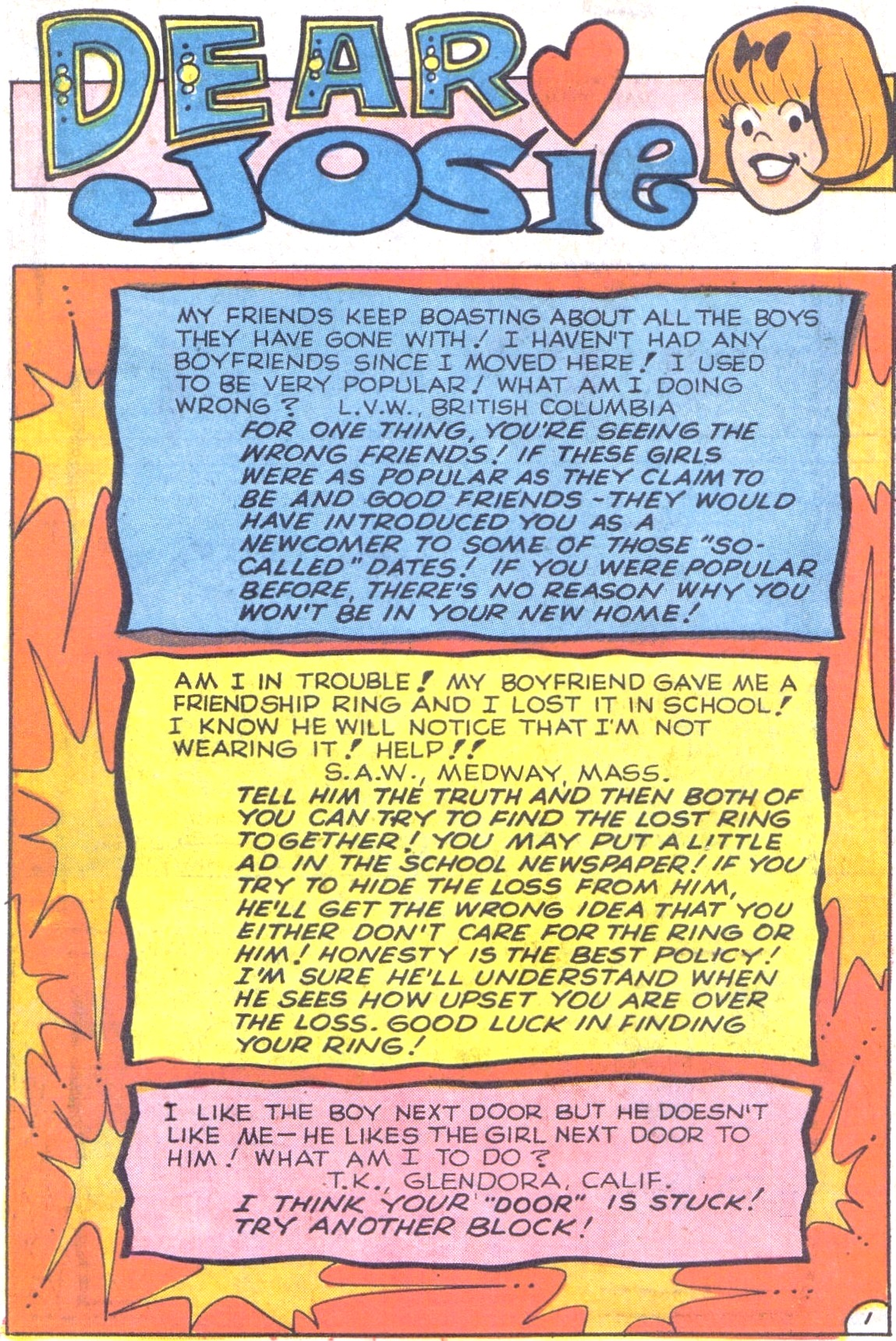 Read online She's Josie comic -  Issue #62 - 32