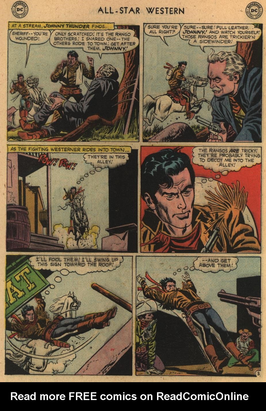 Read online All-Star Western (1951) comic -  Issue #100 - 28
