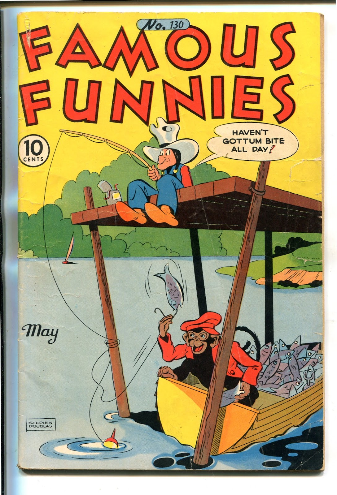 Read online Famous Funnies comic -  Issue #130 - 1
