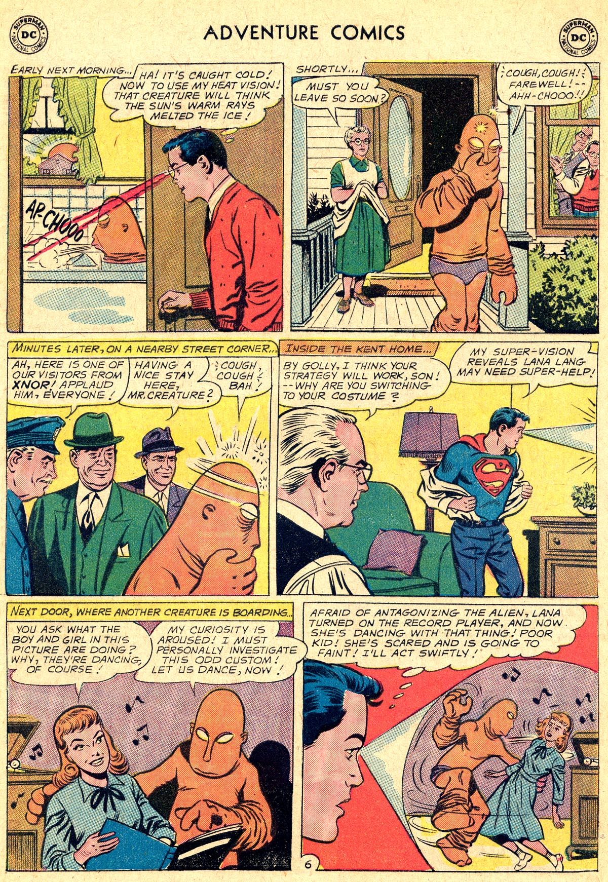 Read online Adventure Comics (1938) comic -  Issue #294 - 8