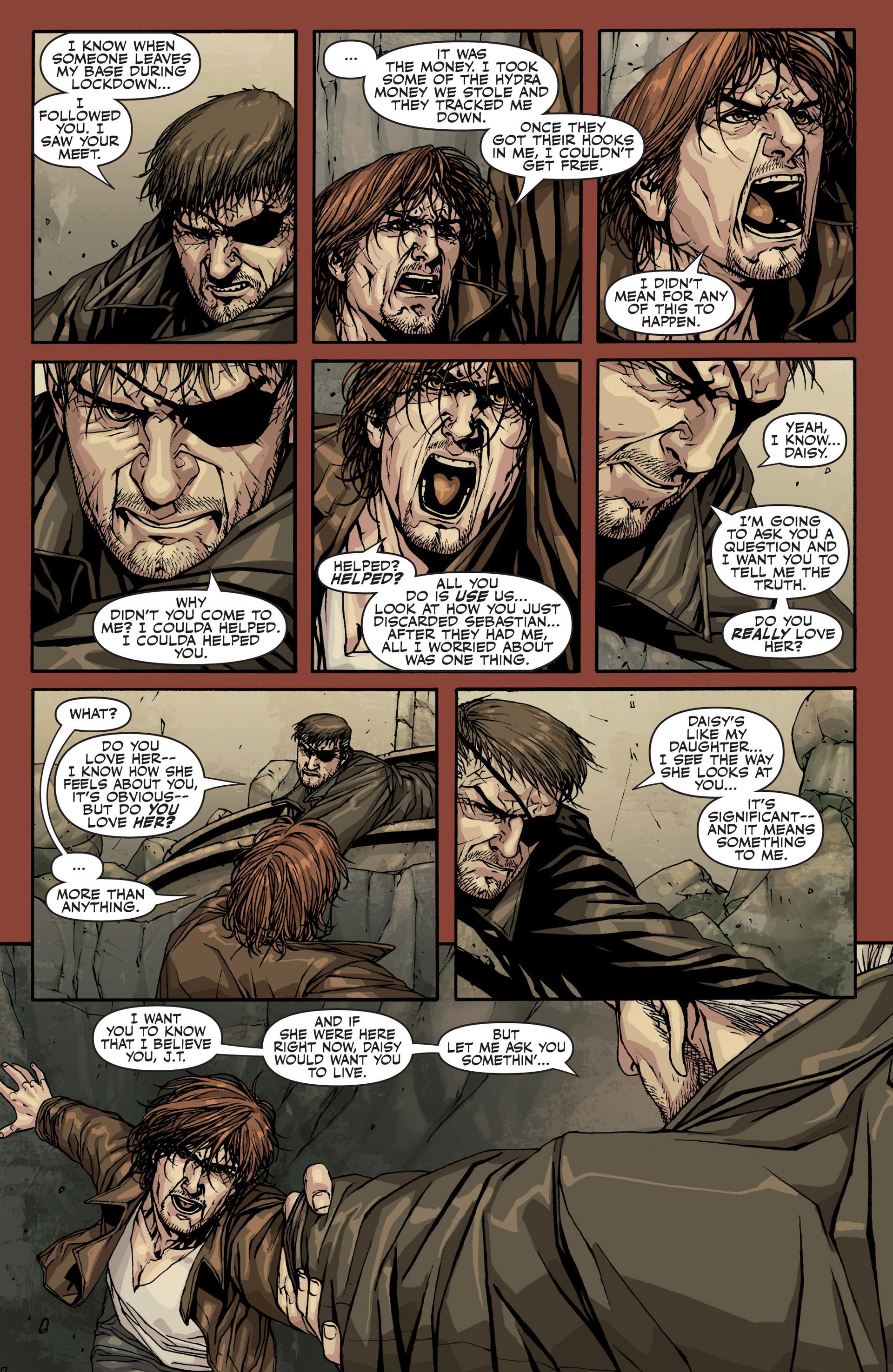 Read online Secret Warriors comic -  Issue #22 - 16