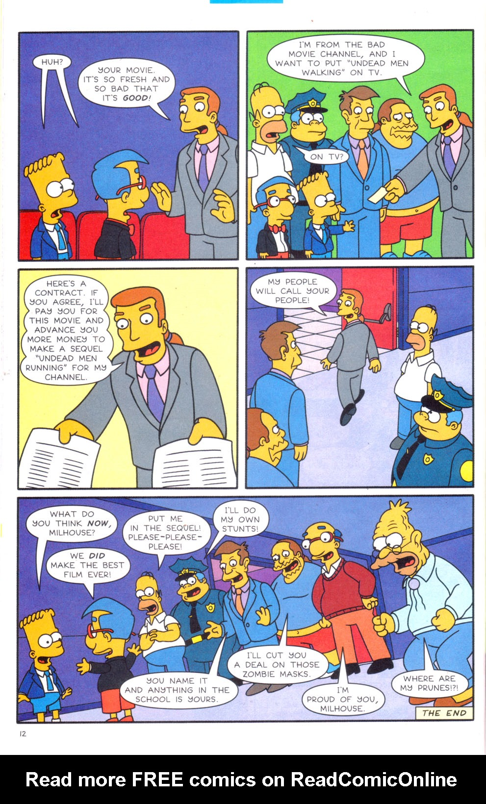 Read online Simpsons Comics Presents Bart Simpson comic -  Issue #20 - 29