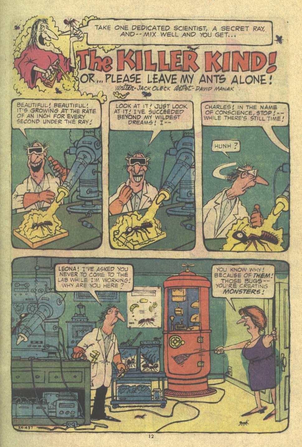 Read online Plop! comic -  Issue #9 - 13