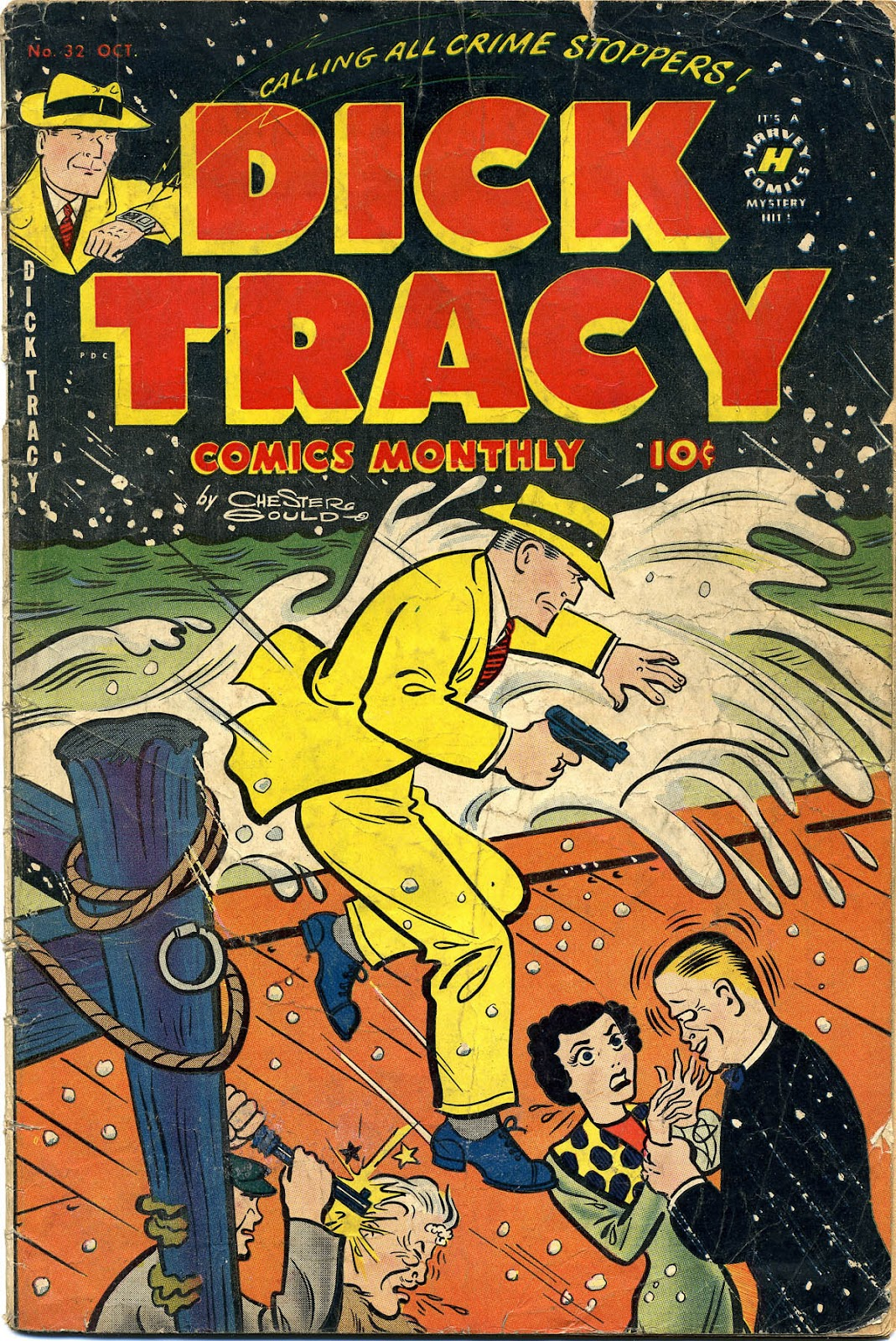 Dick Tracy (1950) 32 Page 1