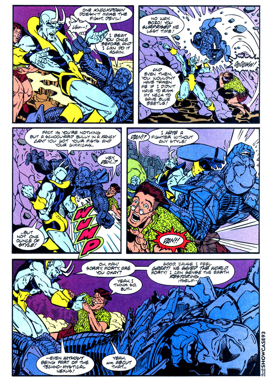 Read online Showcase '93 comic -  Issue #5 - 28