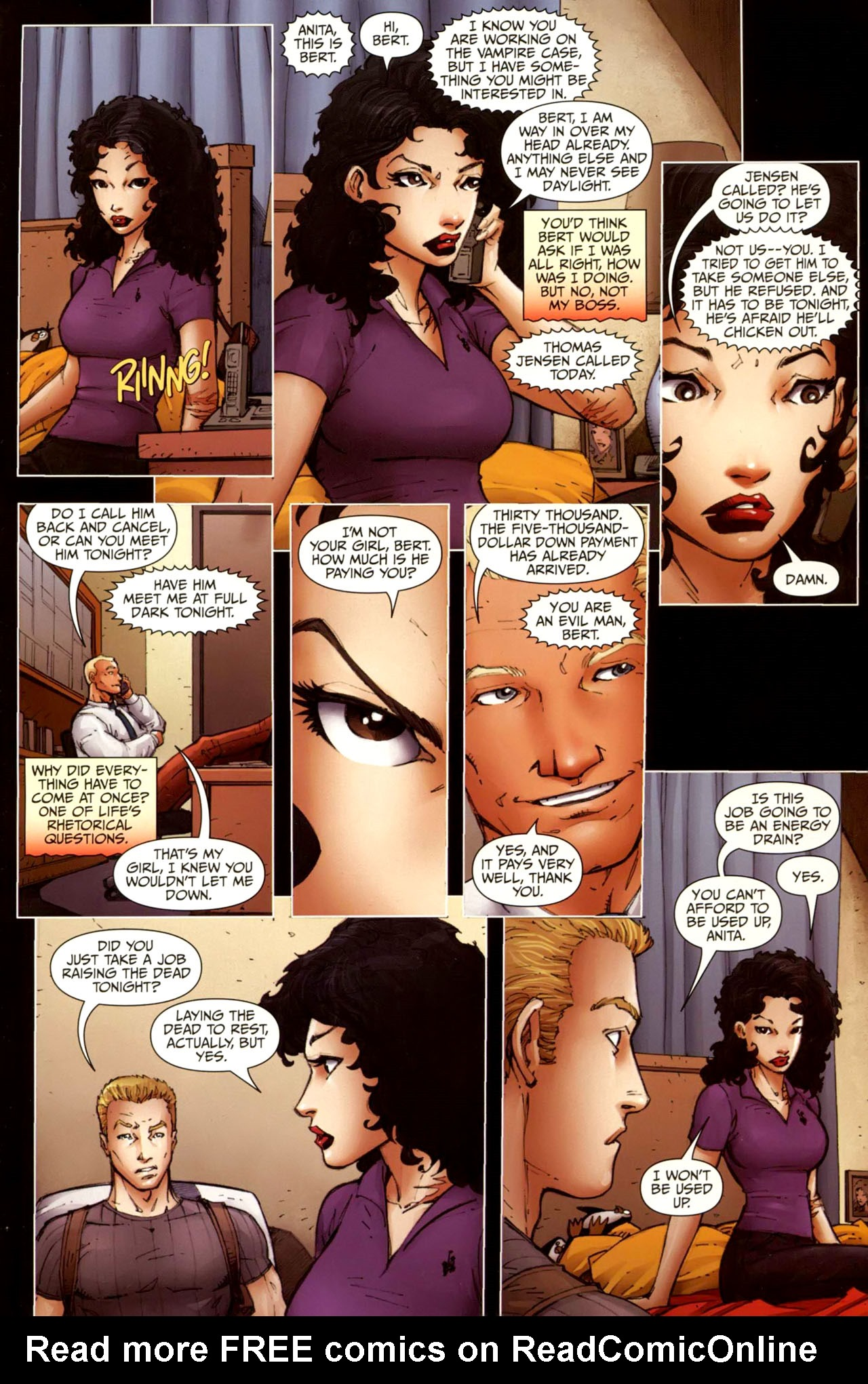 Read online Anita Blake, Vampire Hunter: Guilty Pleasures comic -  Issue #10 - 17