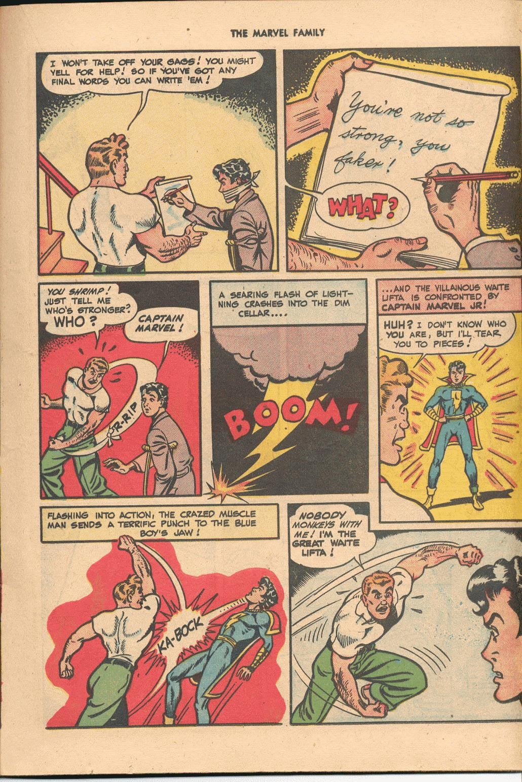 The Marvel Family issue 38 - Page 21