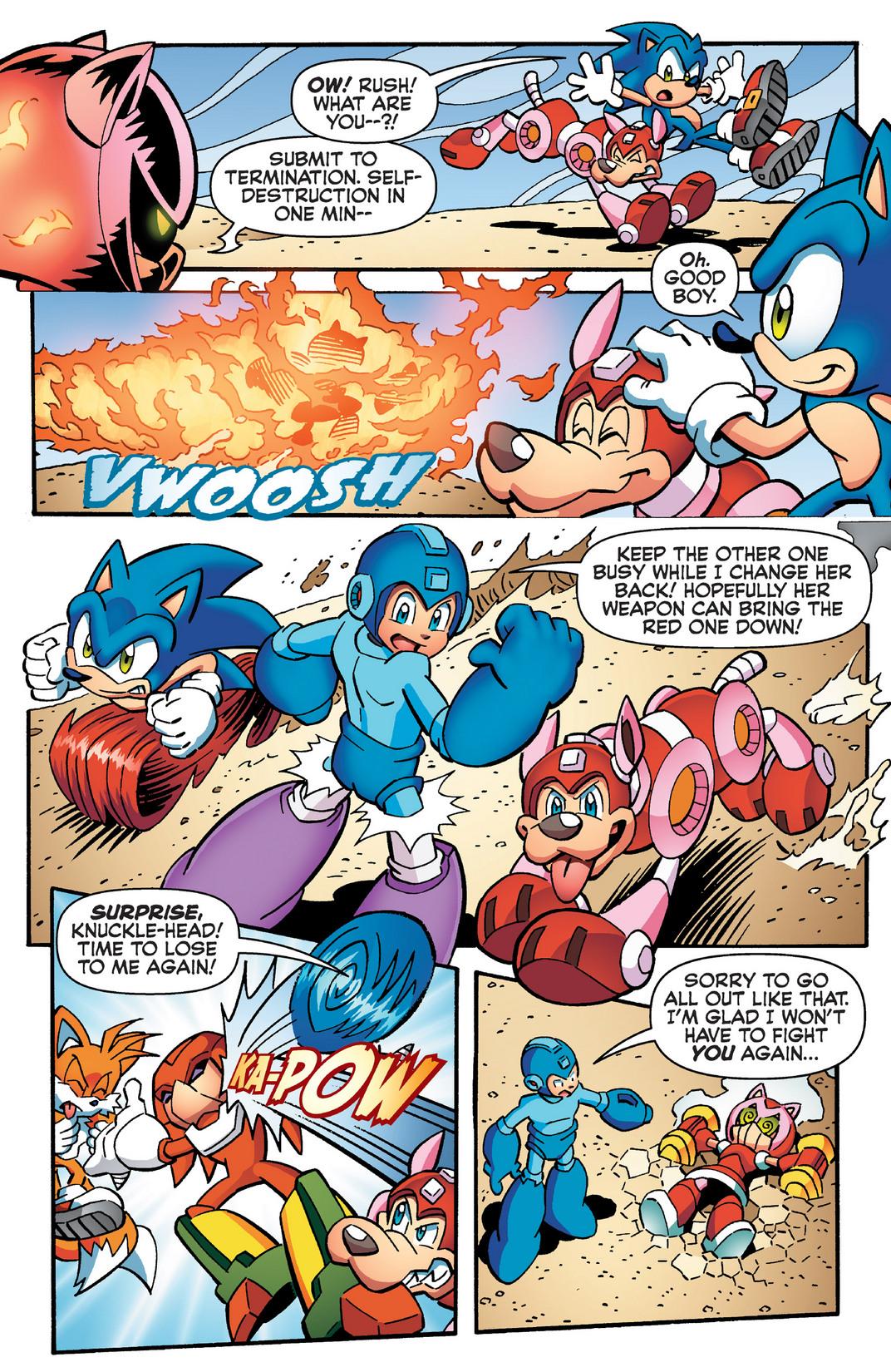 Read online Sonic Mega Man Worlds Collide comic -  Issue # Vol 2 - 93