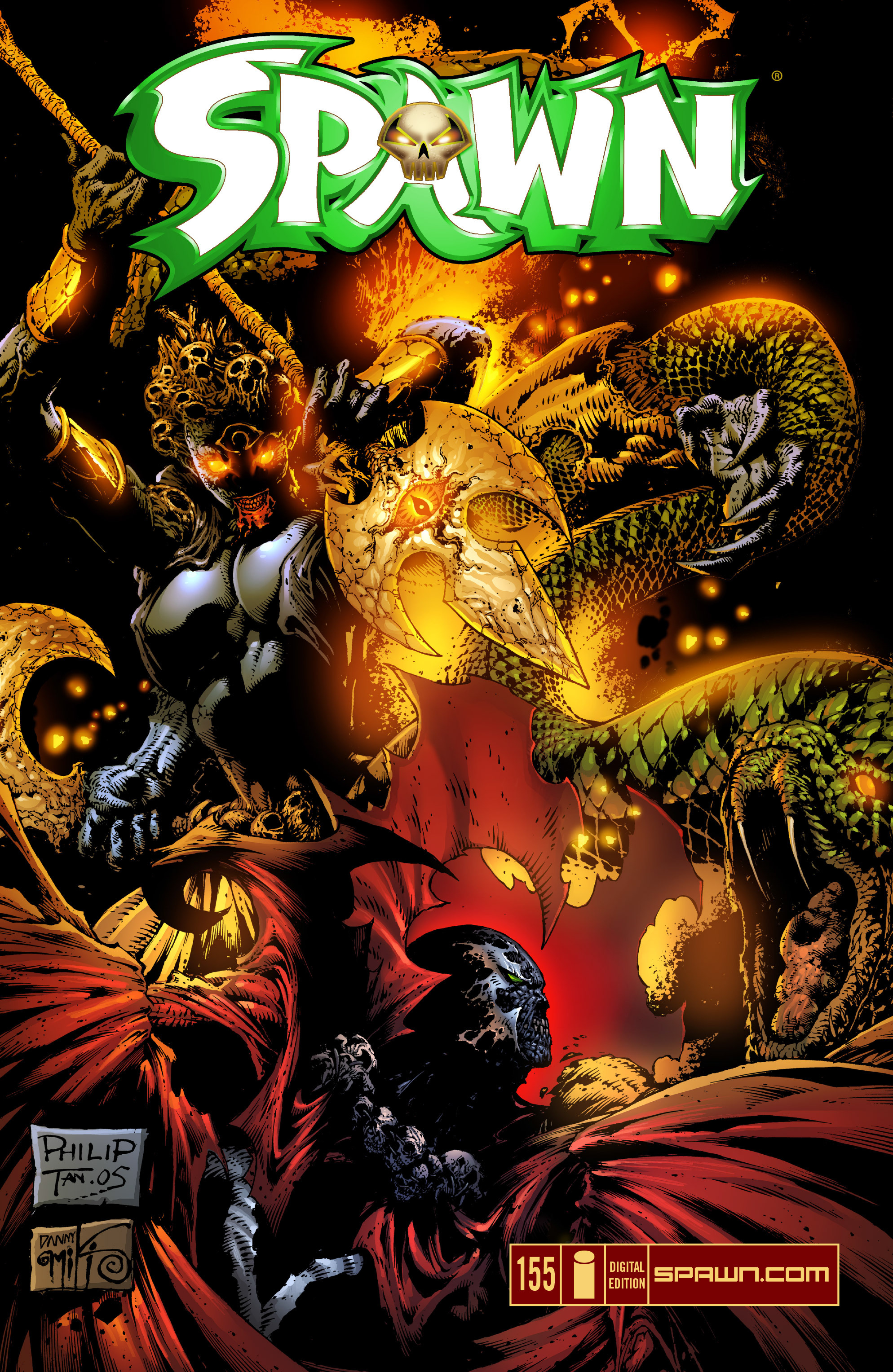 Spawn 155 Page 1