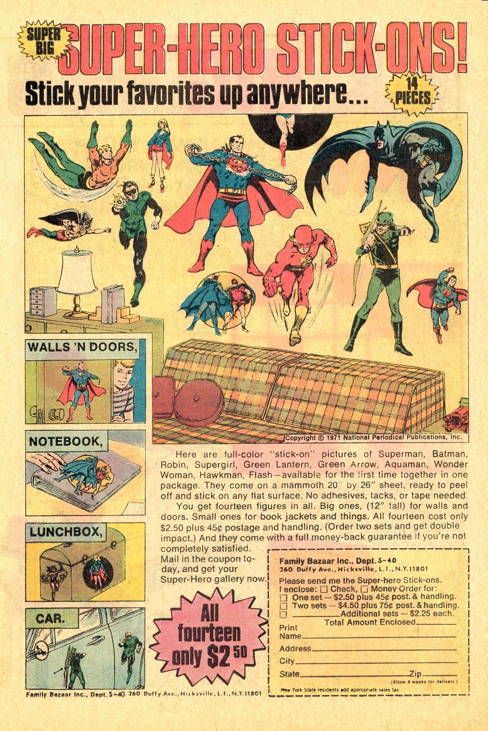 Read online Secret Origins (1973) comic -  Issue #7 - 17