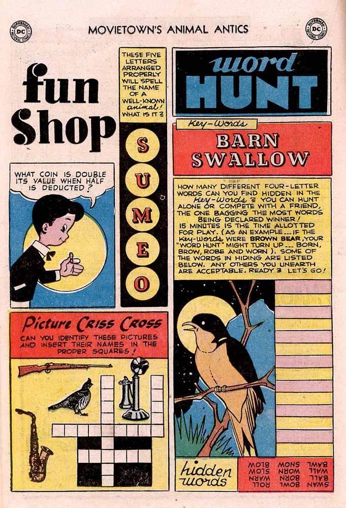 Read online Animal Antics comic -  Issue #43 - 18