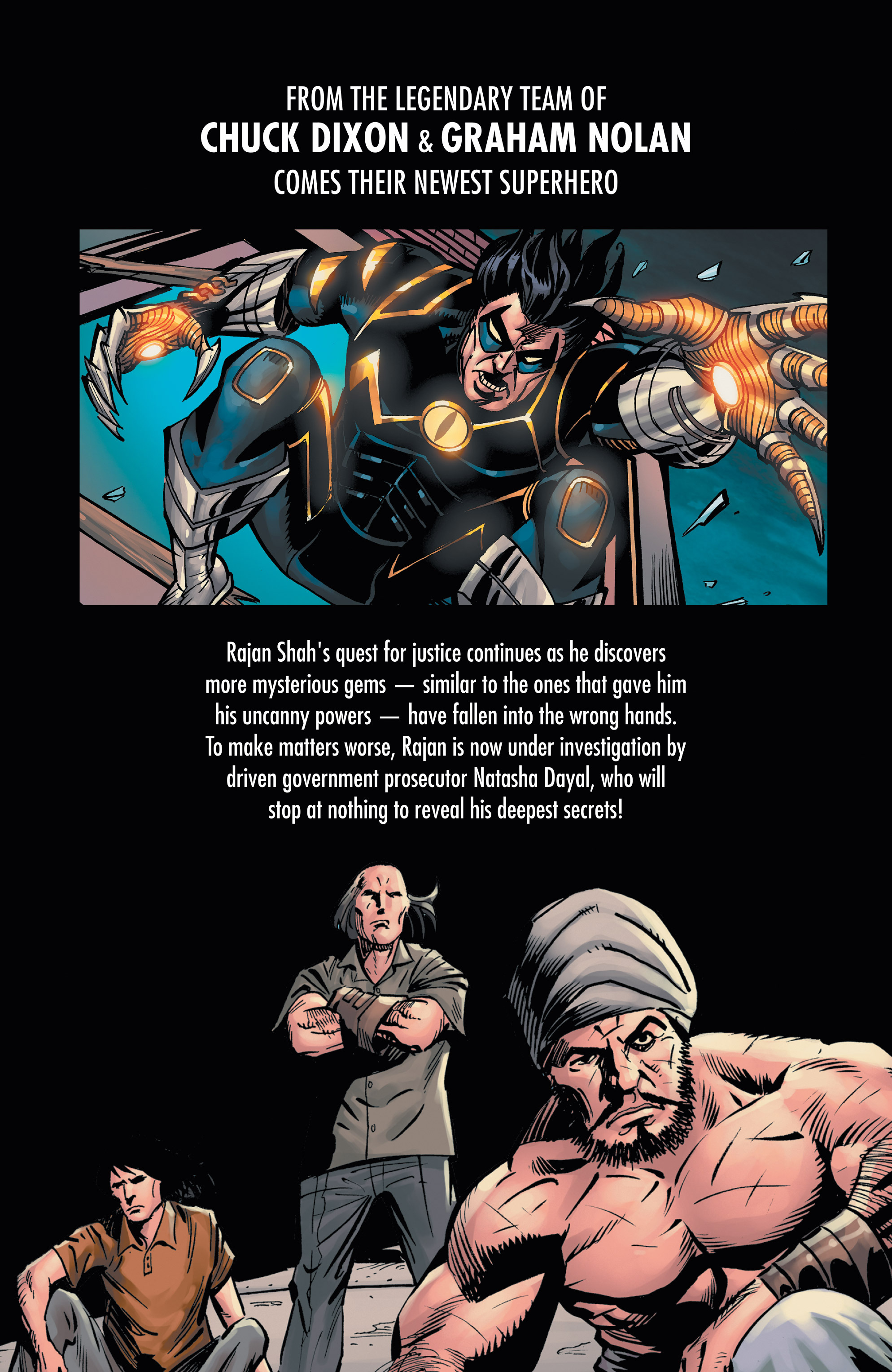 Read online Shadow Tiger comic -  Issue #2 - 25