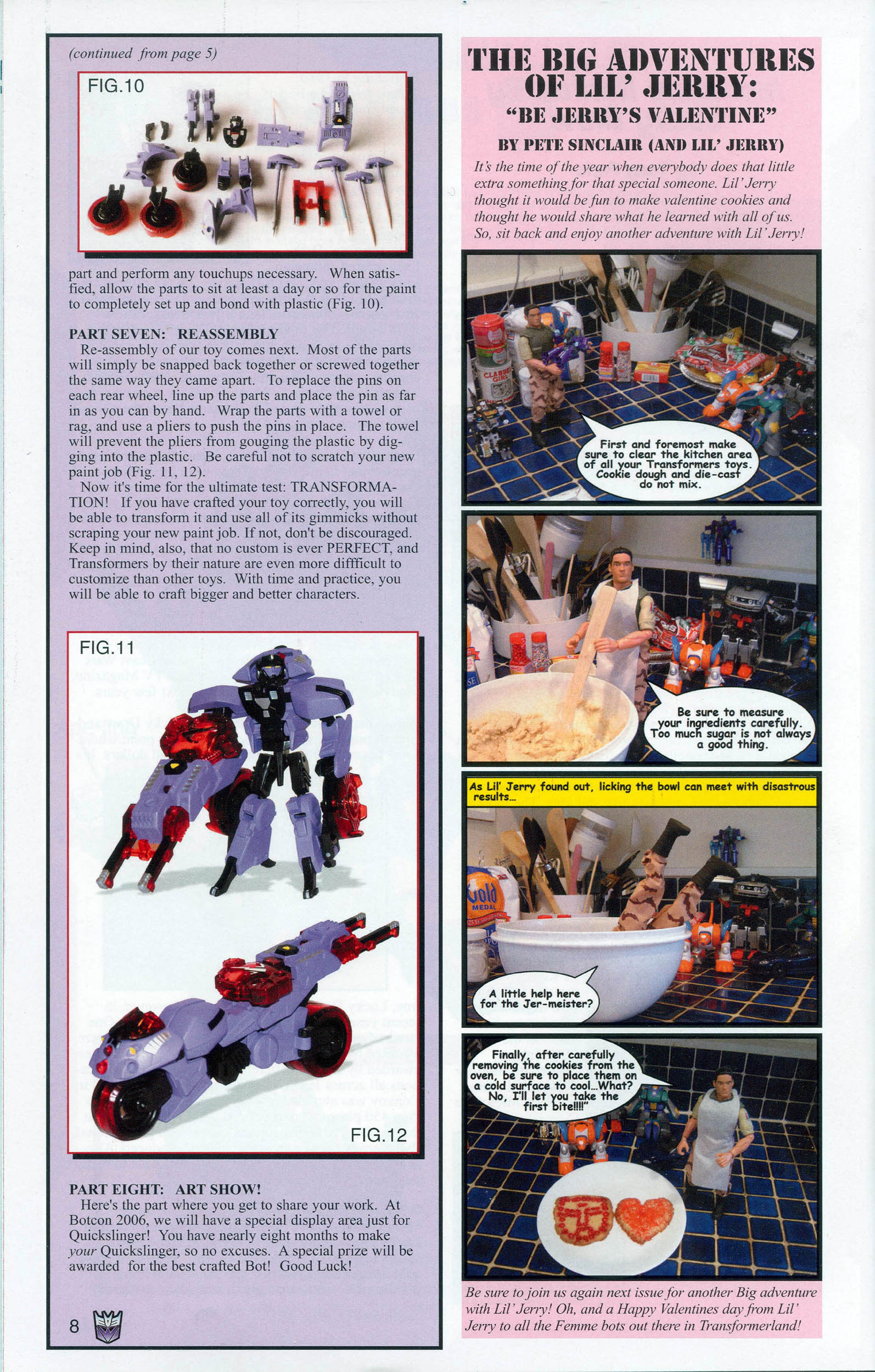 Read online Transformers: Collectors' Club comic -  Issue #7 - 8