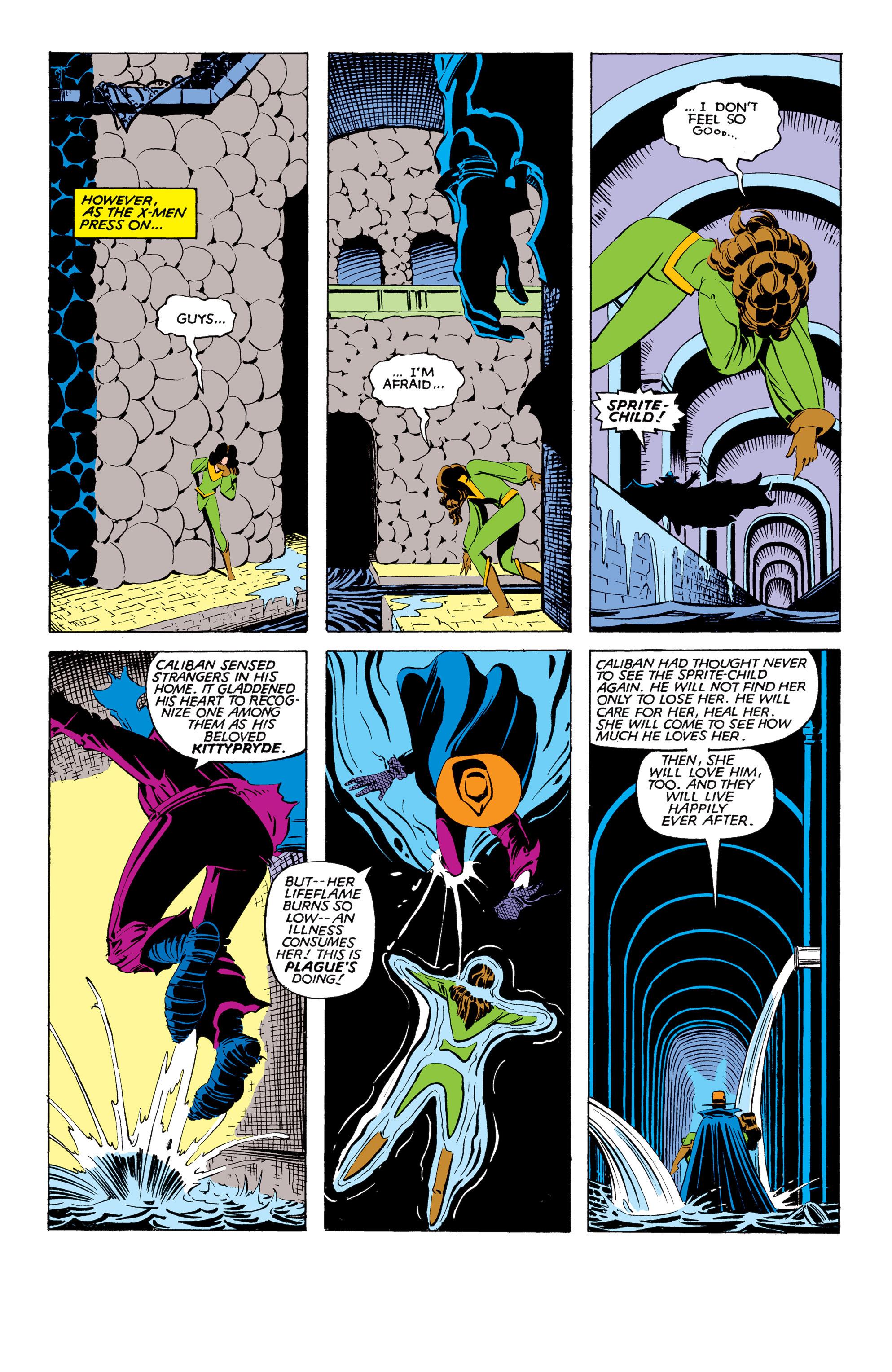 Read online Uncanny X-Men (1963) comic -  Issue #169 - 17
