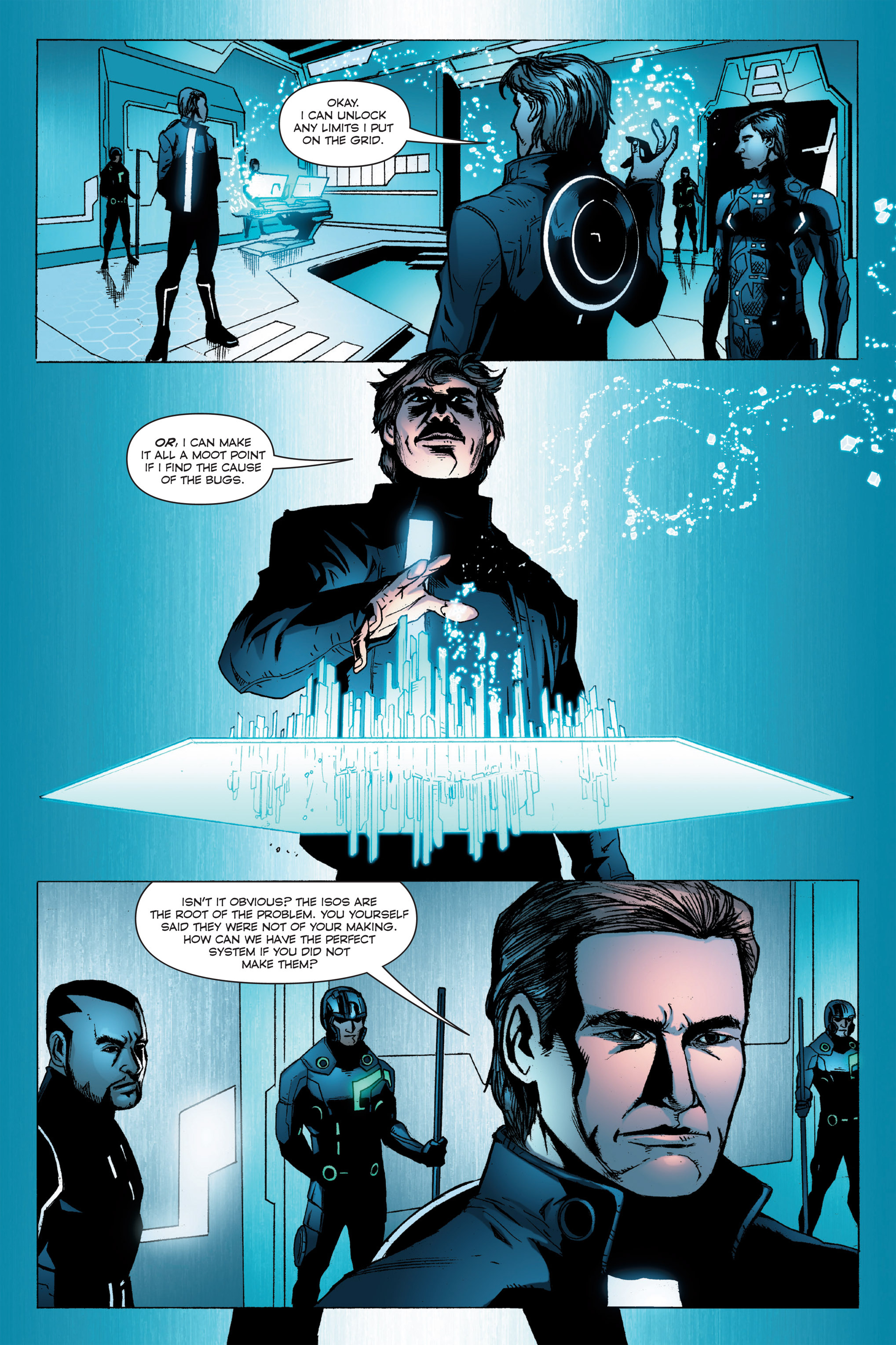 Read online TRON: Betrayal comic -  Issue # TPB - 56