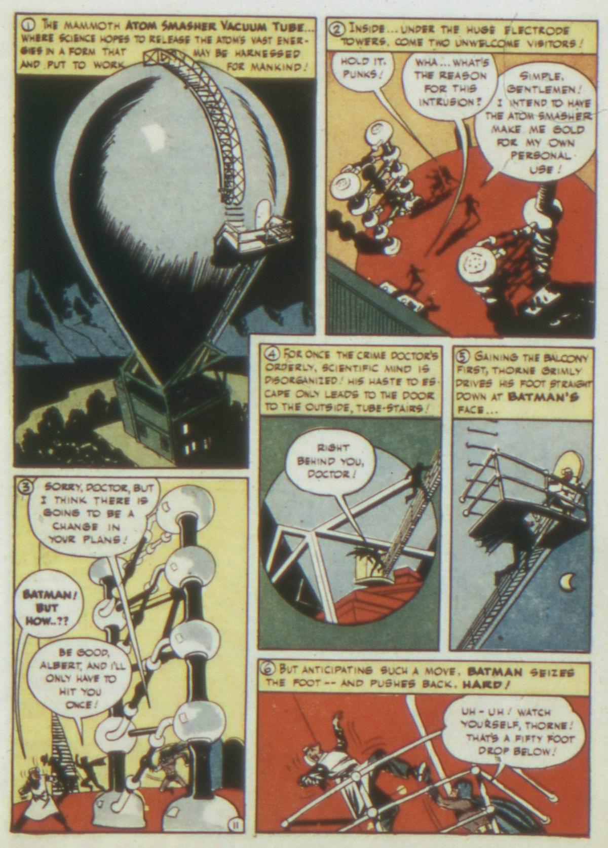 Read online Detective Comics (1937) comic -  Issue #77 - 13