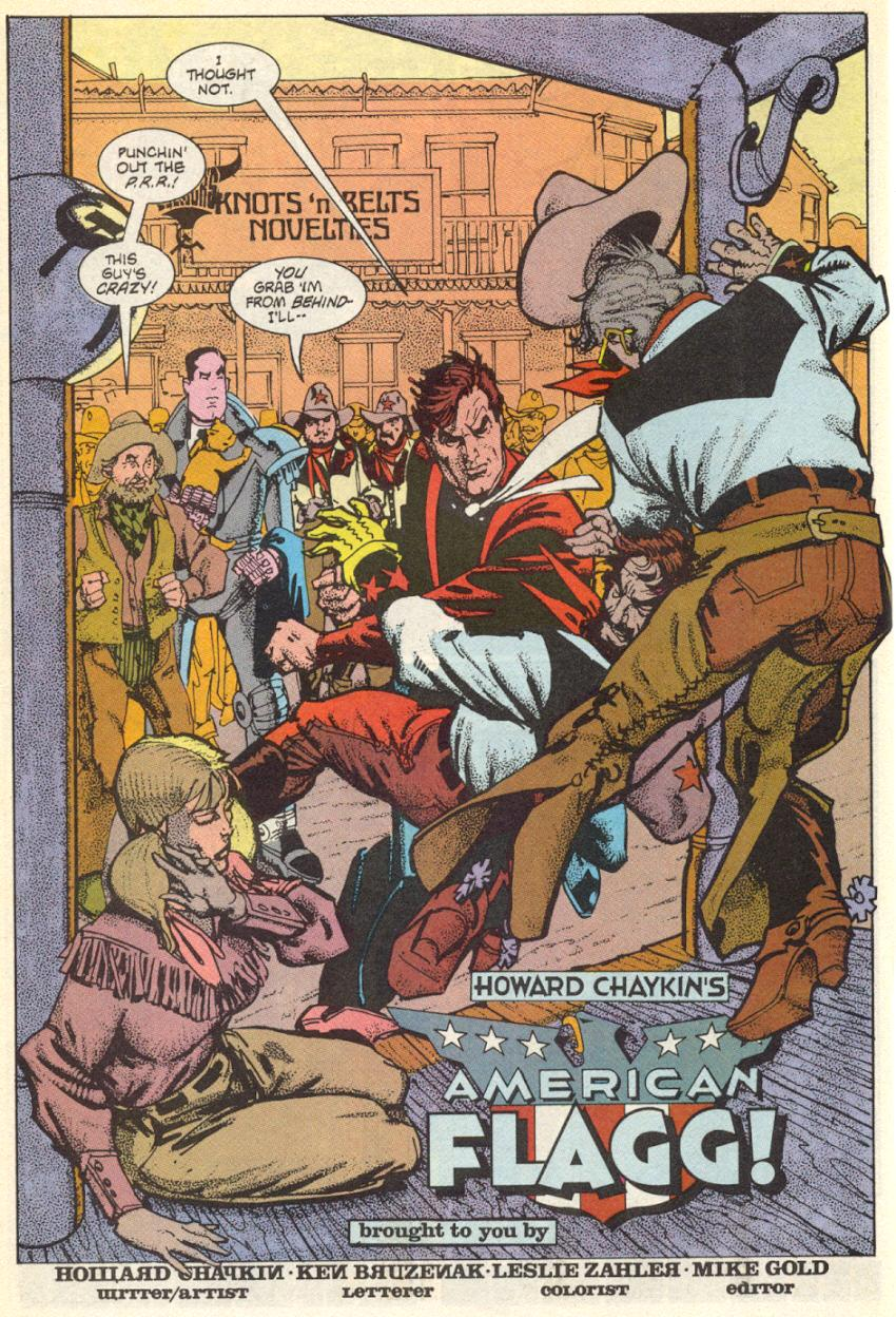 Read online American Flagg! comic -  Issue #15 - 5