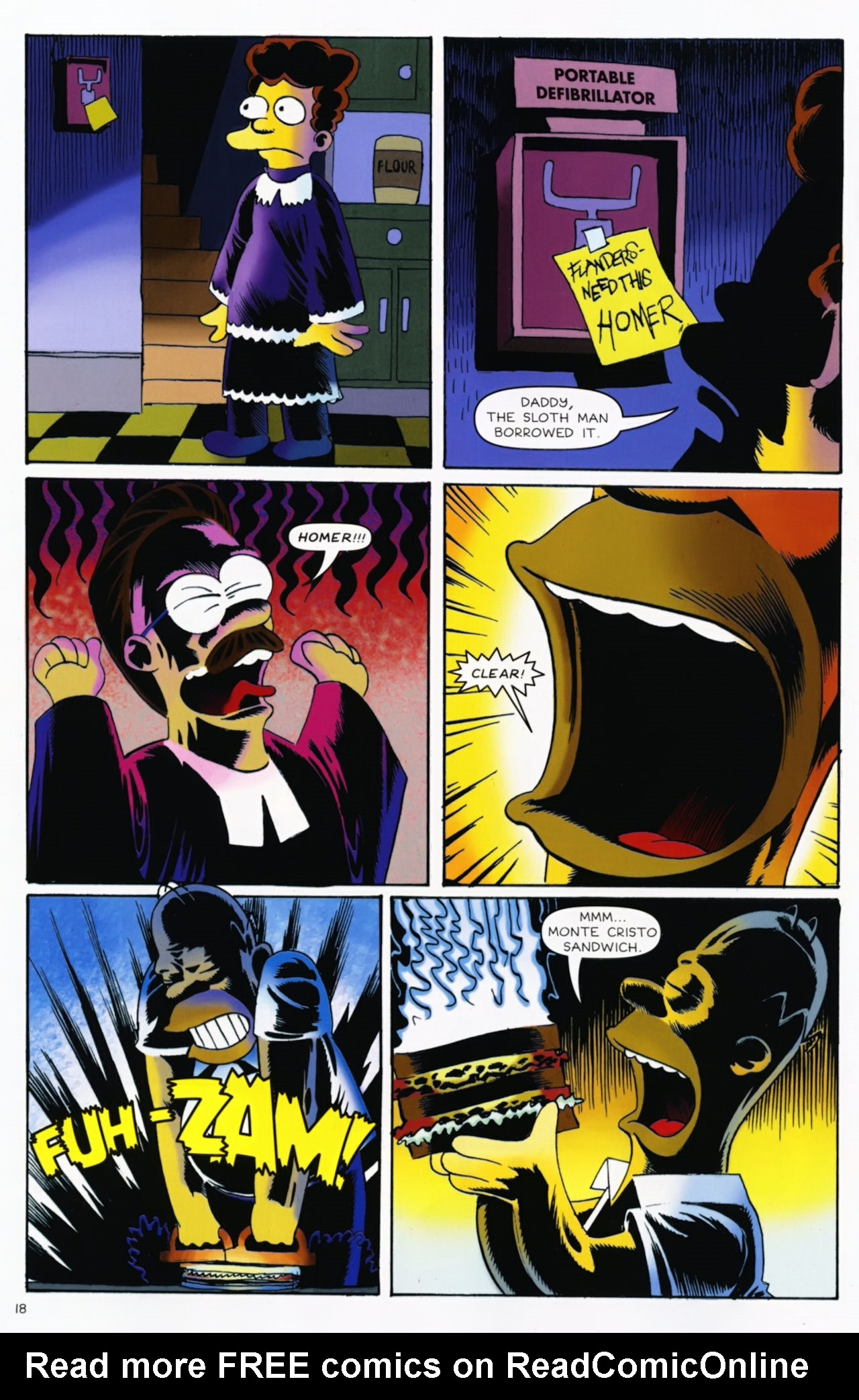 Read online Treehouse of Horror comic -  Issue #16 - 21