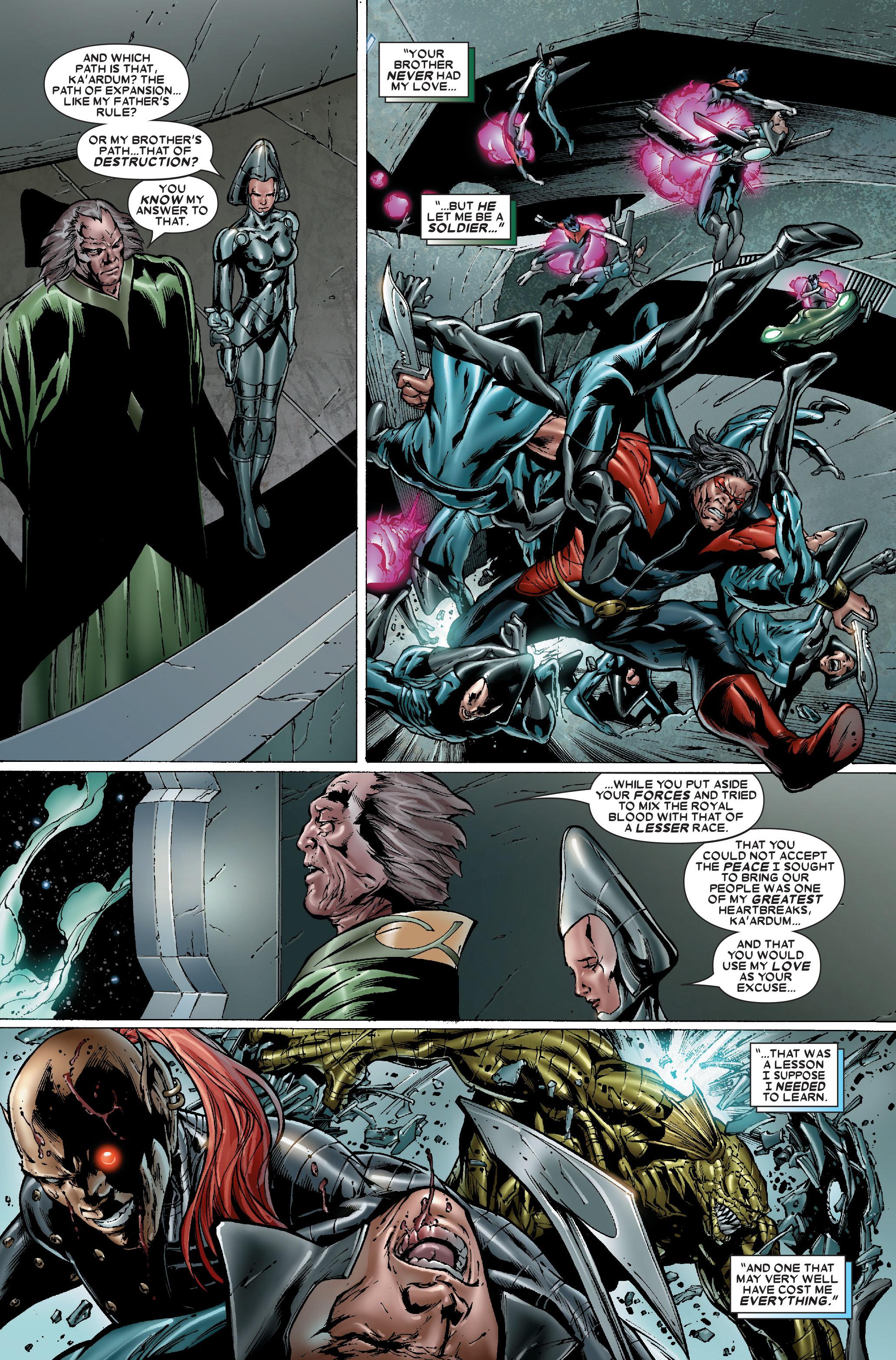 Read online Uncanny X-Men (1963) comic -  Issue #484 - 16