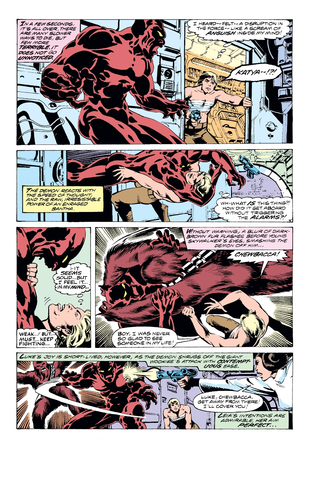 Read online Star Wars Legends: The Original Marvel Years - Epic Collection comic -  Issue # TPB 2 (Part 3) - 12