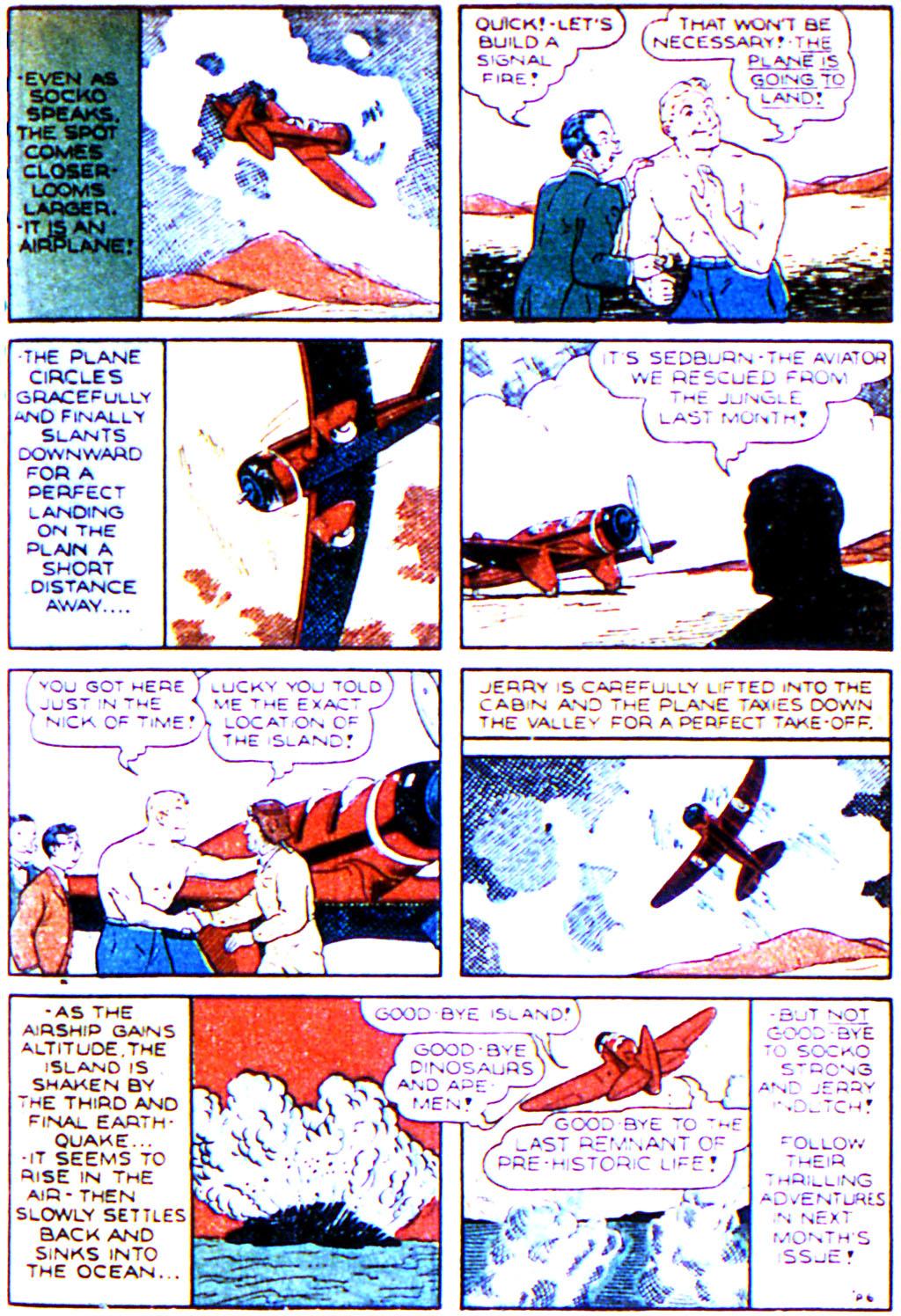 Read online Adventure Comics (1938) comic -  Issue #43 - 33