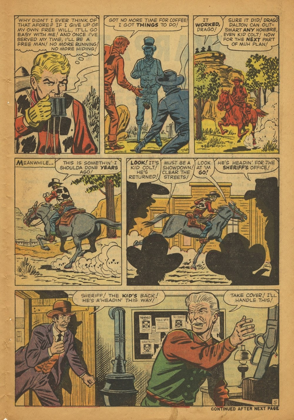 Kid Colt Outlaw issue 97 - Page 7