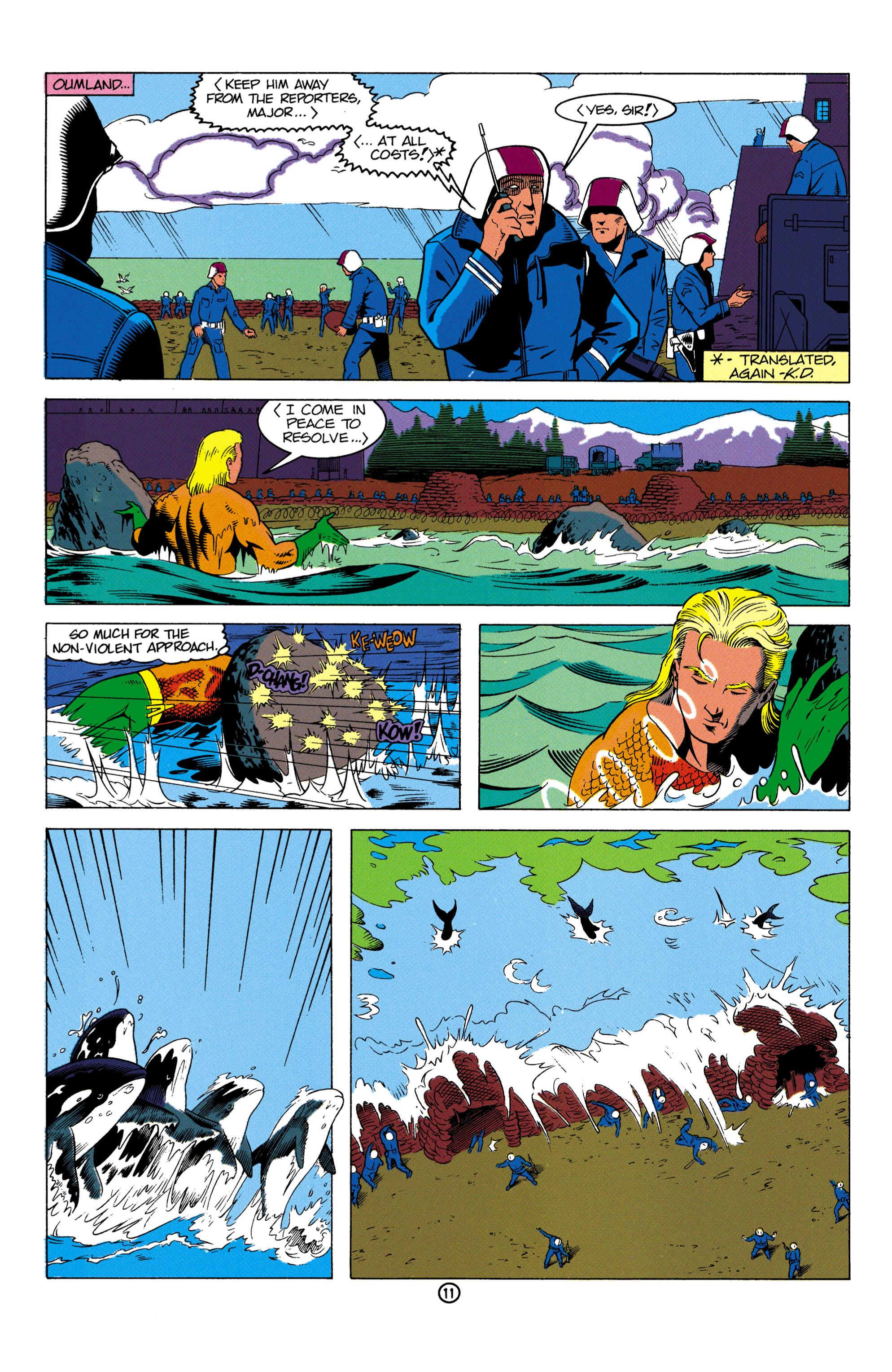 Read online Aquaman (1991) comic -  Issue #2 - 12