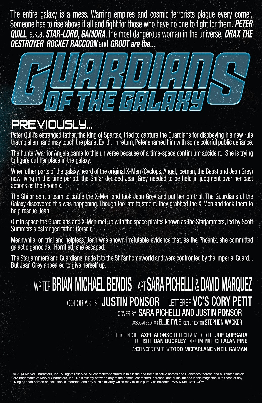 Guardians of the Galaxy/All-New X-Men: The Trial of Jean Grey issue TPB - Page 98