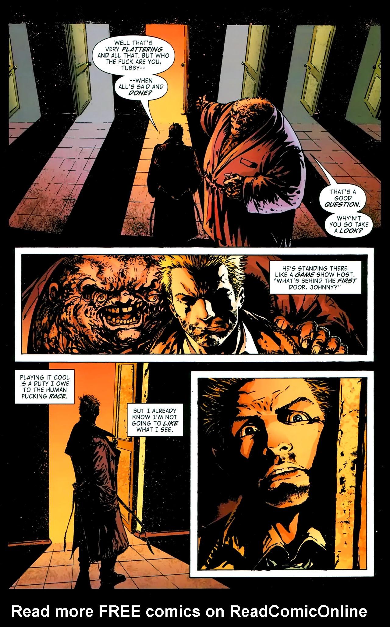 Read online John Constantine Hellblazer: All His Engines comic -  Issue # Full - 41