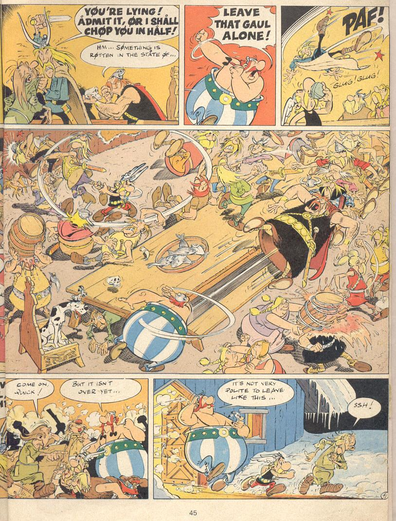 Read online Asterix comic -  Issue #22 - 42
