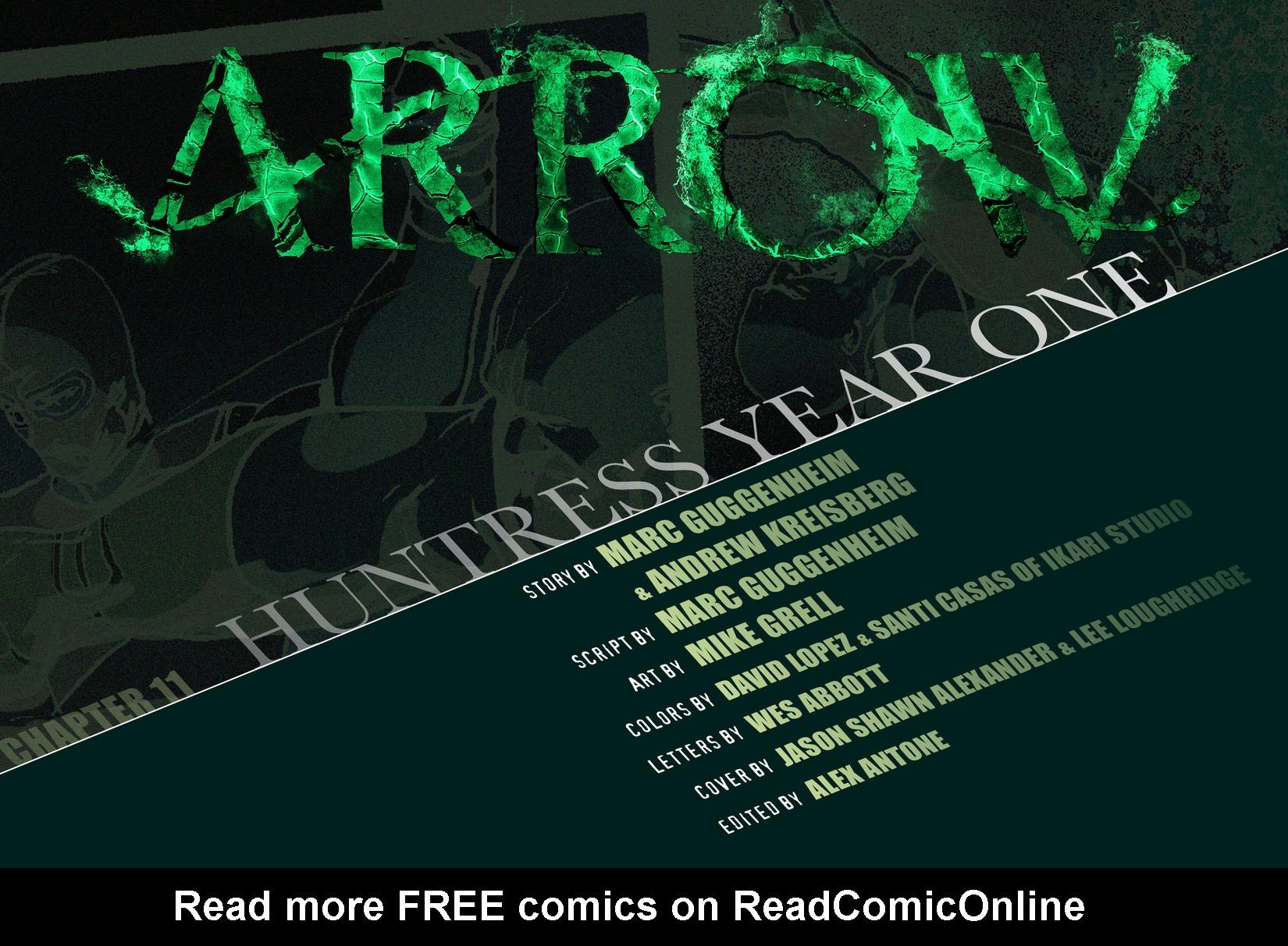 Read online Arrow [II] comic -  Issue #11 - 2