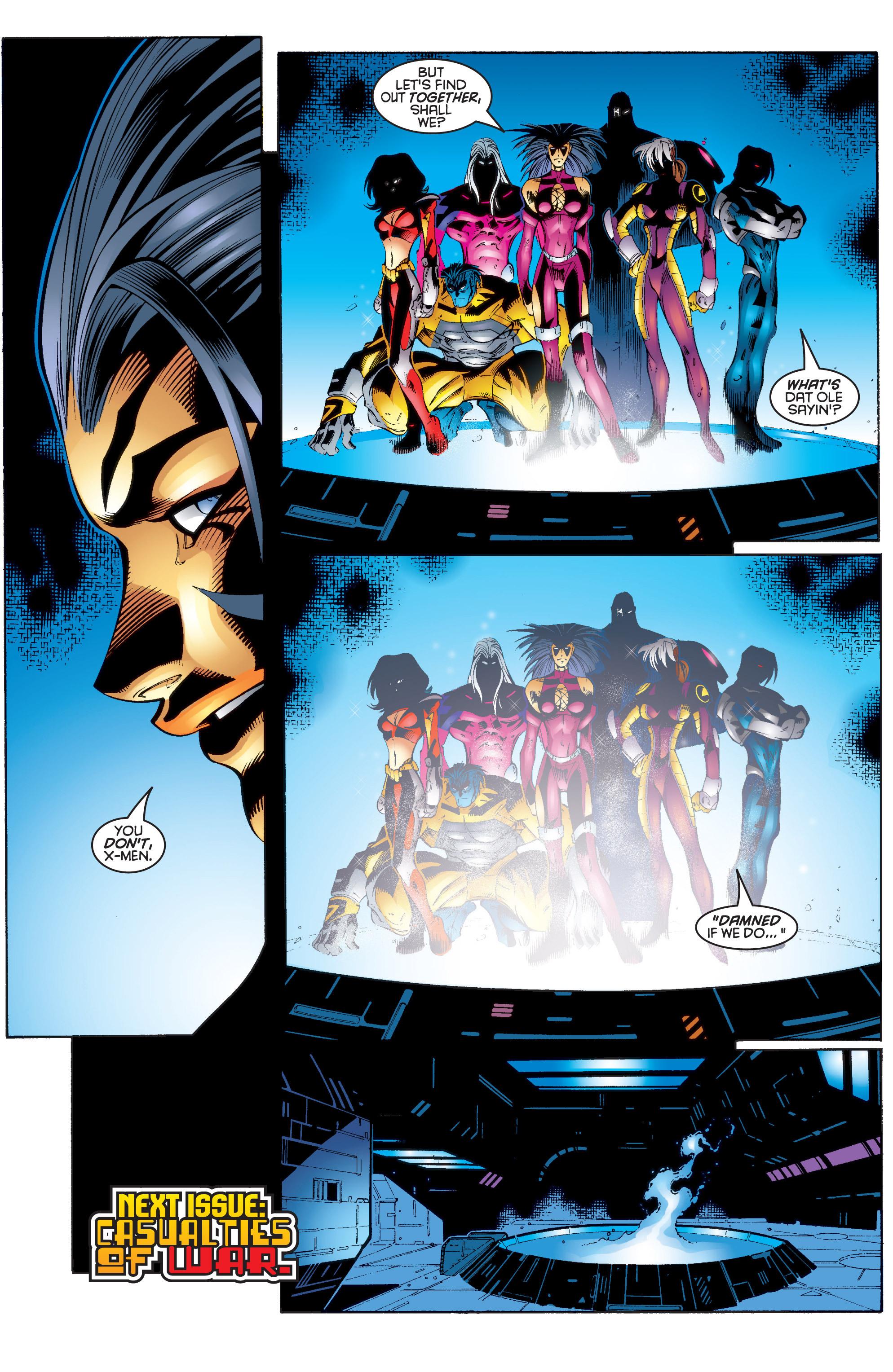 Read online Uncanny X-Men (1963) comic -  Issue #343 - 23