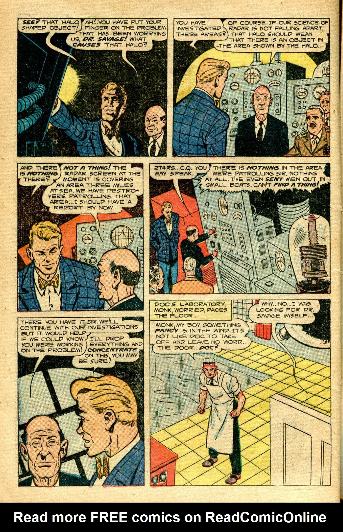 Read online Shadow Comics comic -  Issue #96 - 18