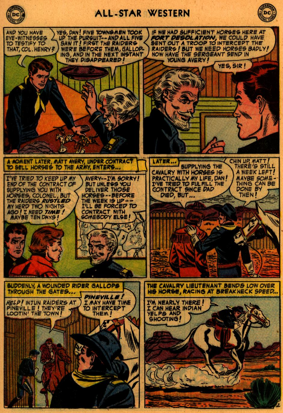 Read online All-Star Western (1951) comic -  Issue #73 - 20