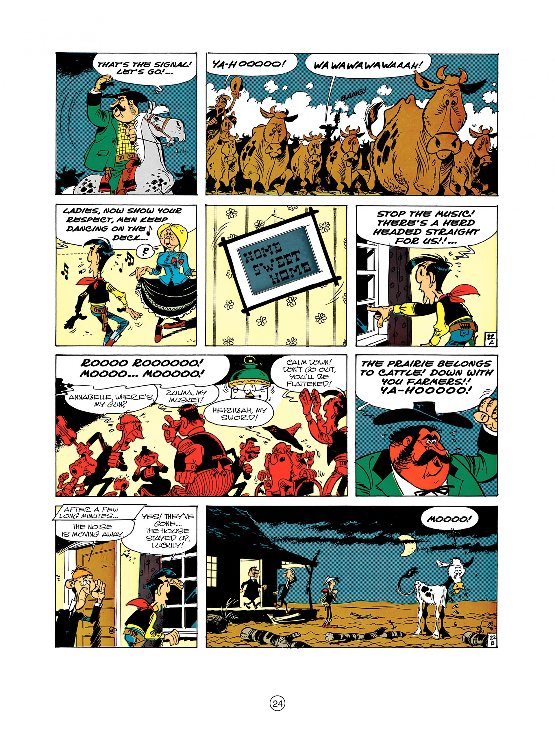 Read online A Lucky Luke Adventure comic -  Issue #7 - 24