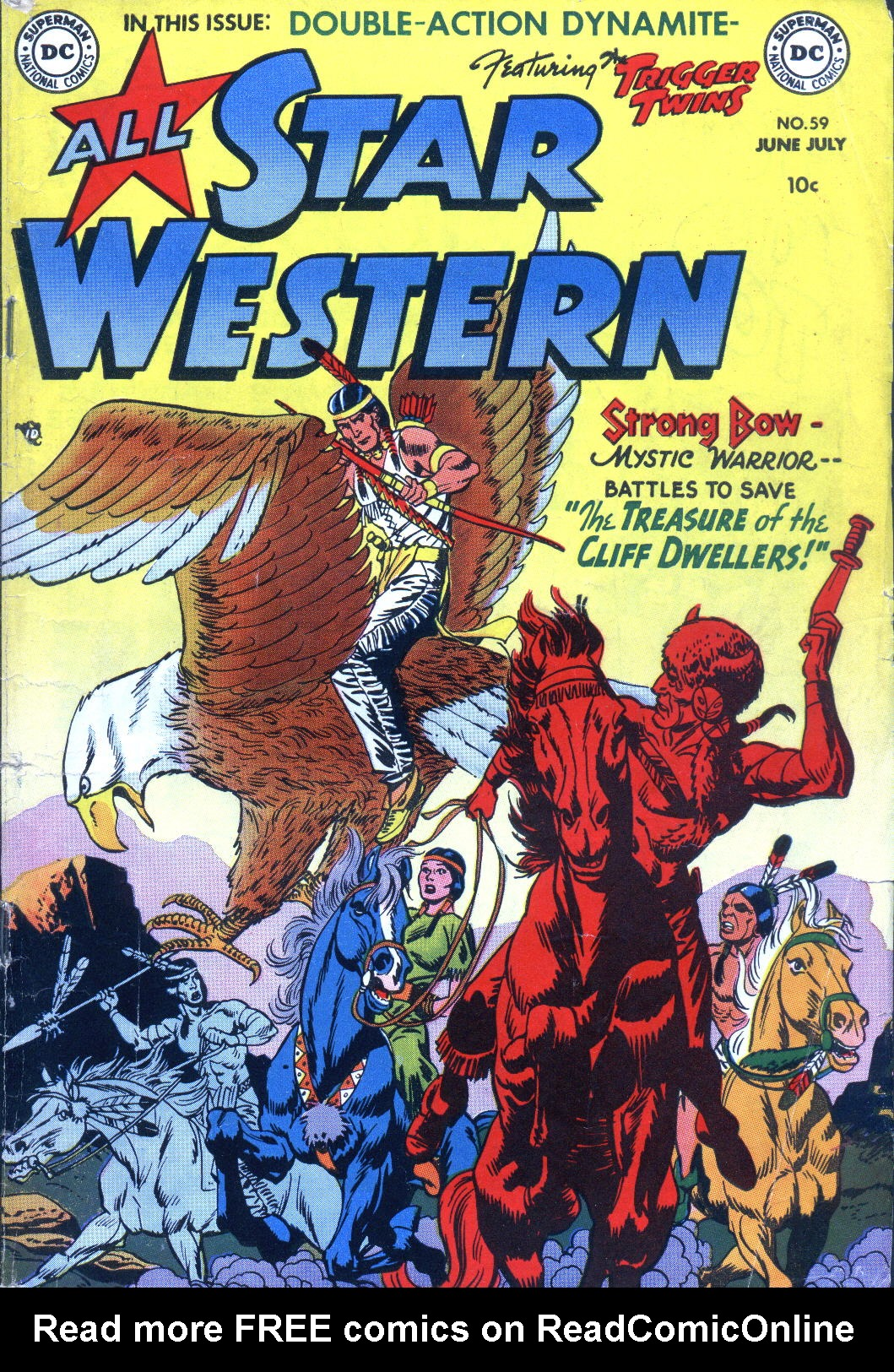 Read online All-Star Western (1951) comic -  Issue #59 - 1