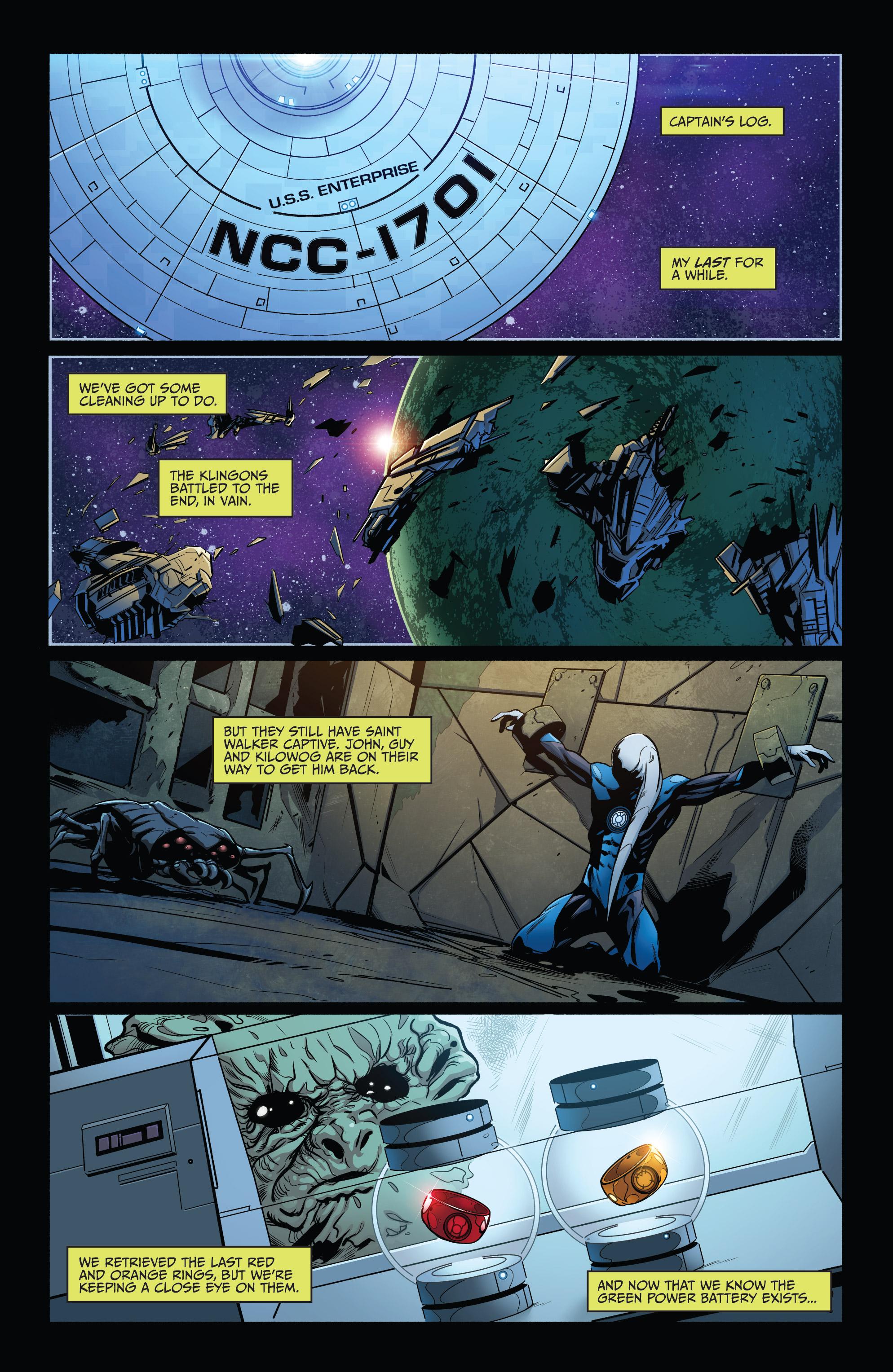 Read online Star Trek/Green Lantern (2016) comic -  Issue #6 - 18