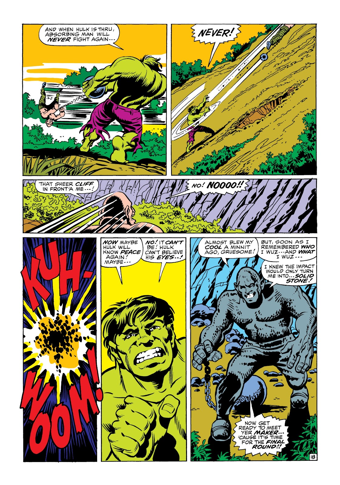 Read online Marvel Masterworks: The Incredible Hulk comic -  Issue # TPB 6 (Part 1) - 90