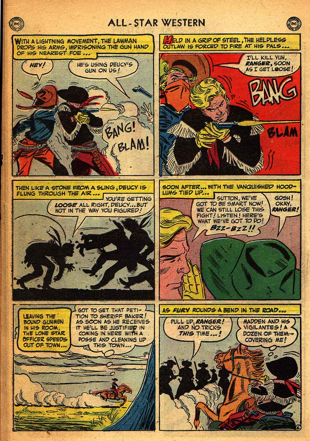 Read online All-Star Western (1951) comic -  Issue #58 - 30