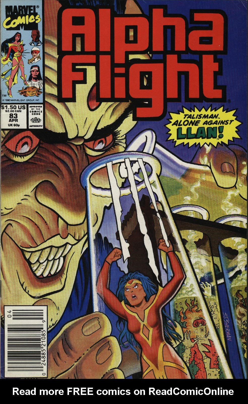 Read online Alpha Flight (1983) comic -  Issue #83 - 1