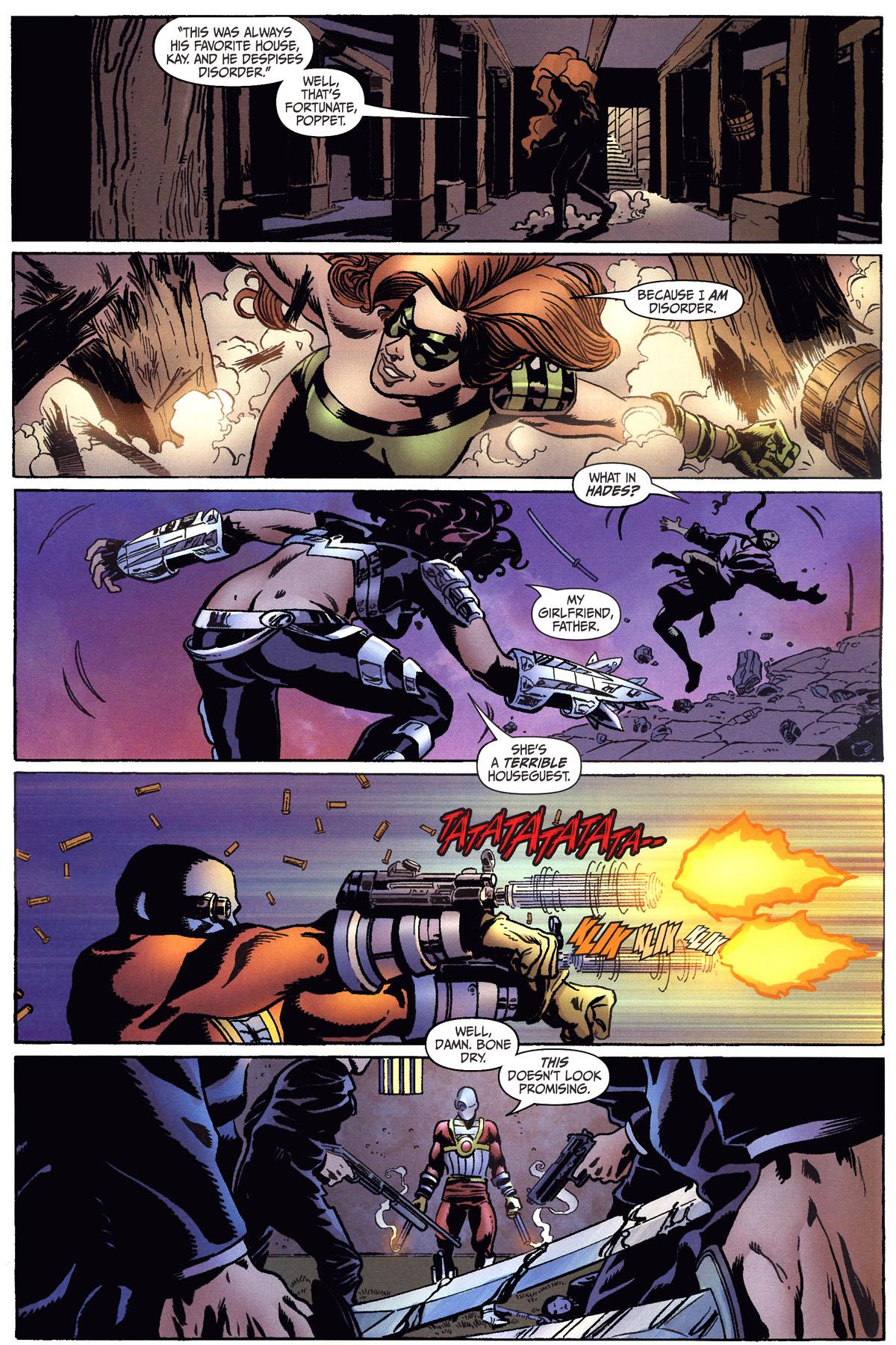 Read online Secret Six (2006) comic -  Issue #6 - 14