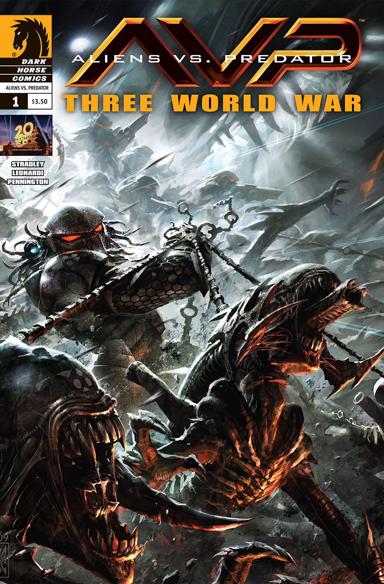 Aliens vs. Predator: Three World War 1 Page 1