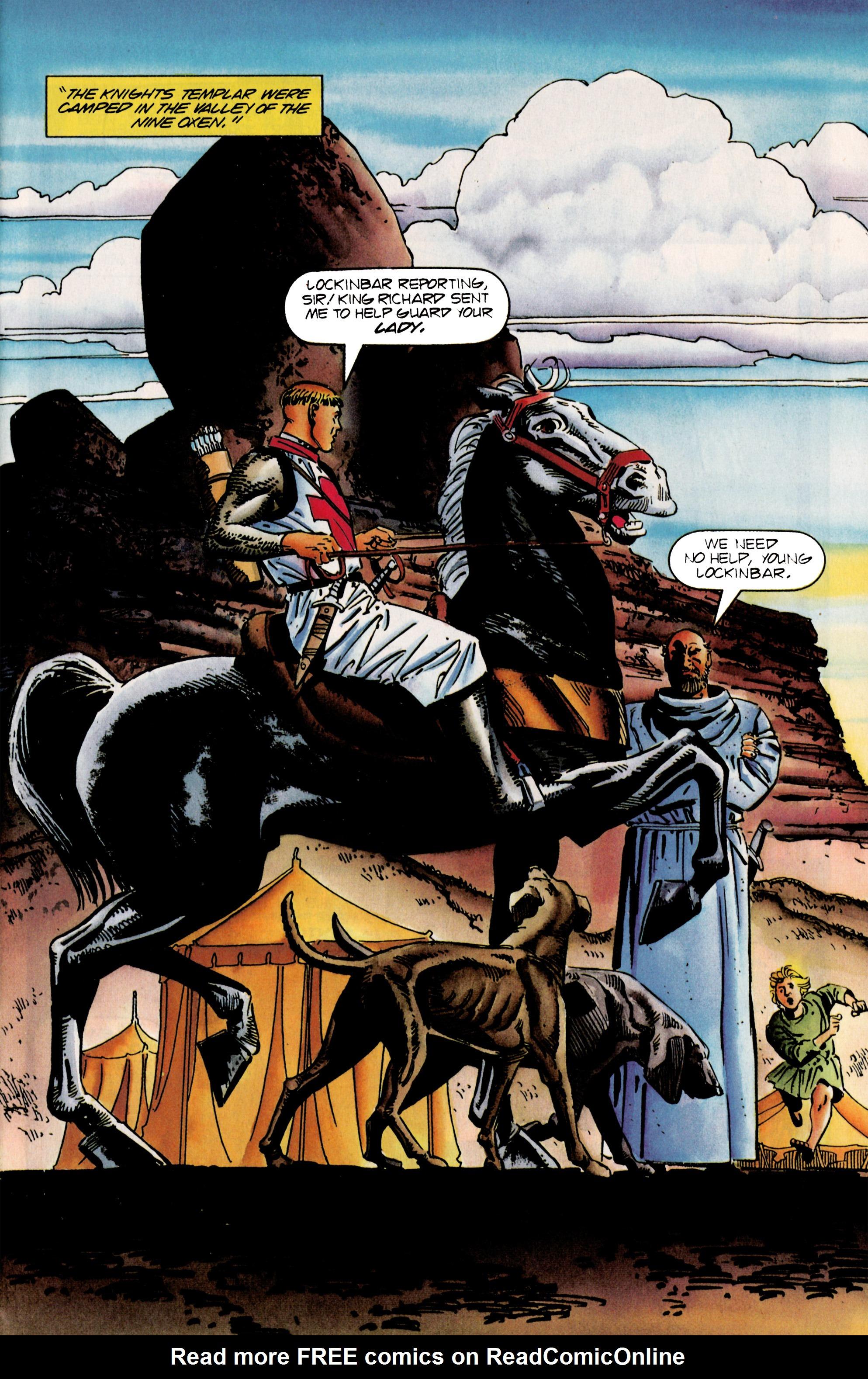 Read online Eternal Warrior (1992) comic -  Issue #25 - 4
