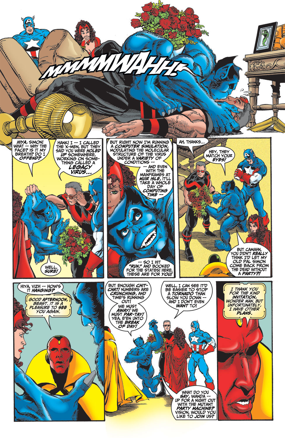 Read online Avengers (1998) comic -  Issue #14 - 5