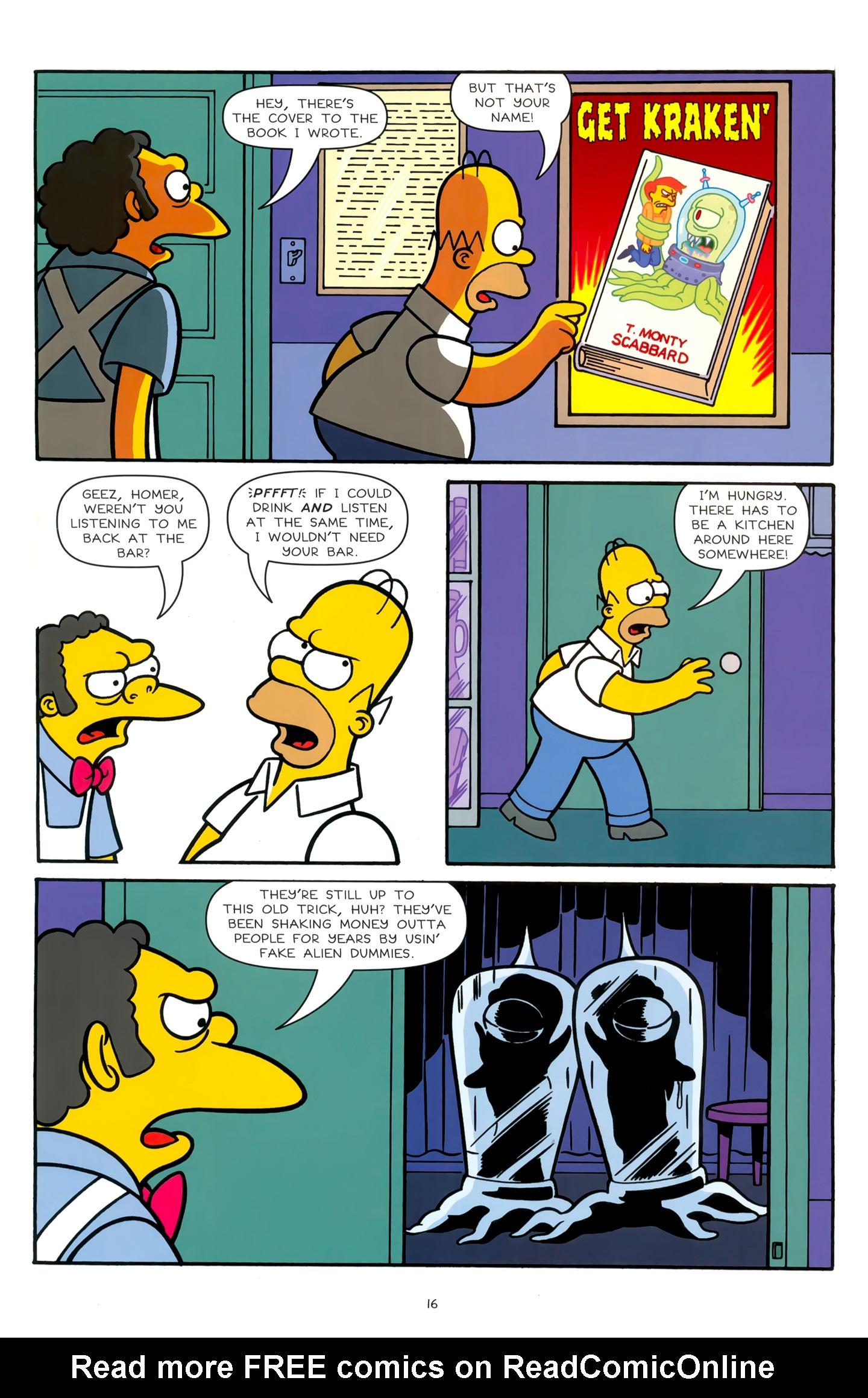 Read online Simpsons Comics comic -  Issue #179 - 14