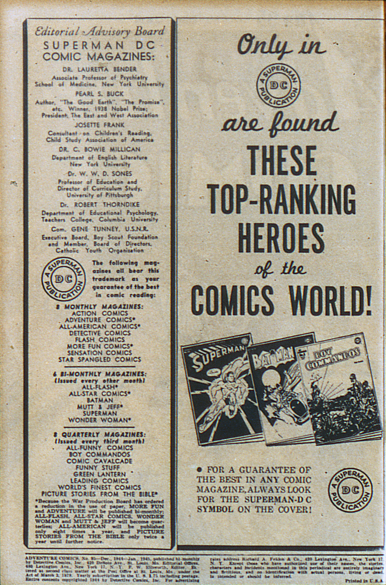 Read online Adventure Comics (1938) comic -  Issue #95 - 3