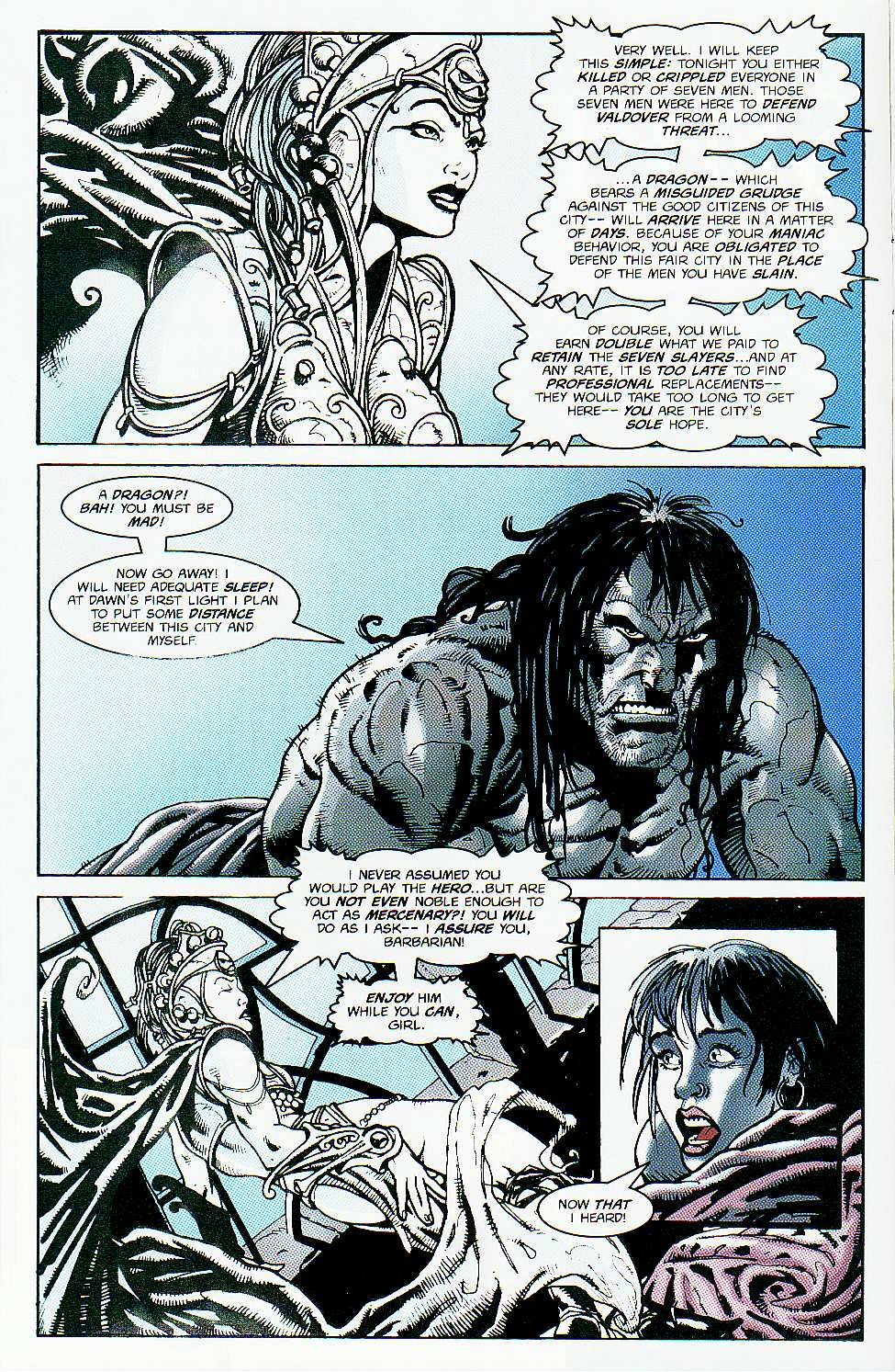 Read online Conan: Return of Styrm comic -  Issue #1 - 9