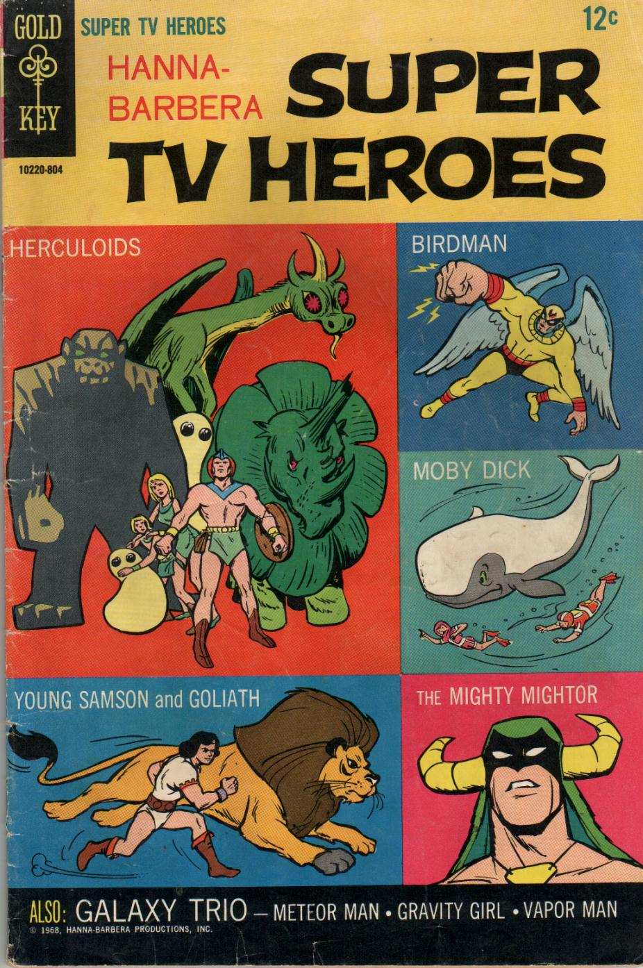Hanna-Barbera Super TV Heroes issue 1 - Page 1
